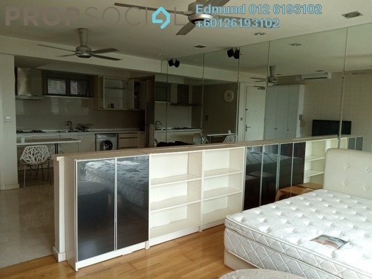 Condominium For Rent in Kiaraville, Mont Kiara Freehold Fully Furnished 0R/1B 1.8k