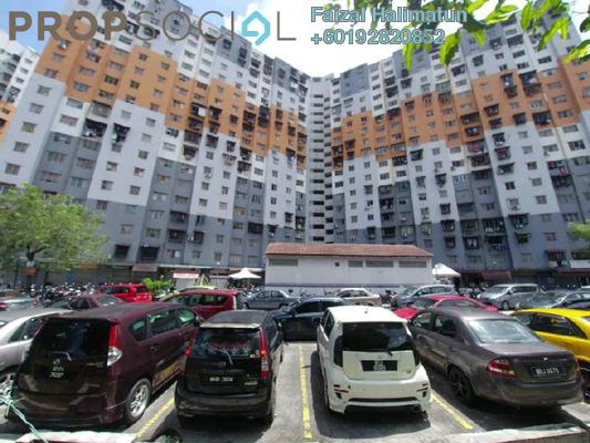 Apartment For Rent in Sri Penara, Bandar Sri Permaisuri Freehold Semi Furnished 3R/2B 1k