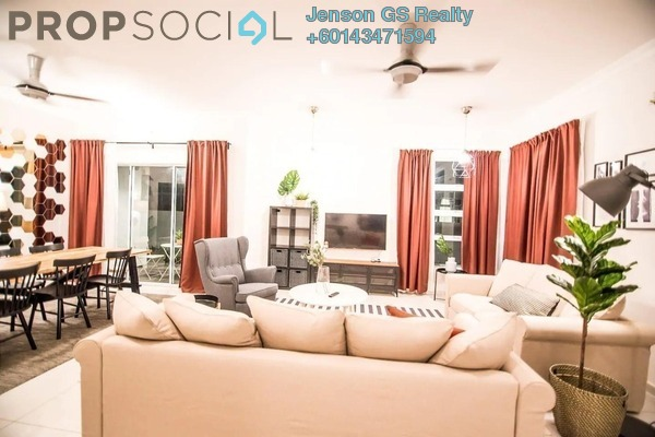 Condominium For Sale in Damai Floresta, Putra Nilai Freehold Semi Furnished 4R/2B 452k