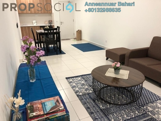 Apartment For Sale in Eco Majestic, Semenyih Freehold Semi Furnished 3R/2B 290k