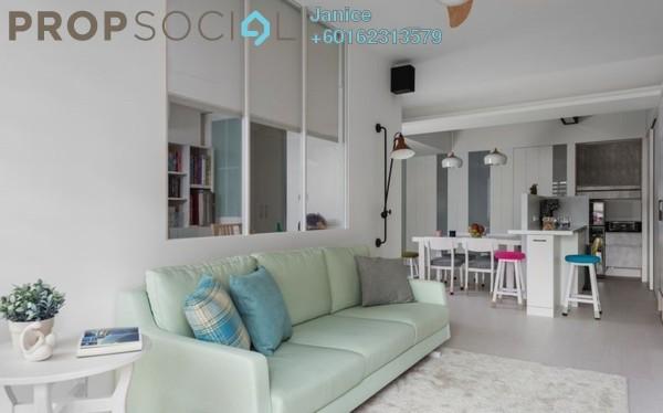 Condominium For Sale in Jalan Bangsar, Kuala Lumpur Freehold Semi Furnished 3R/2B 738k