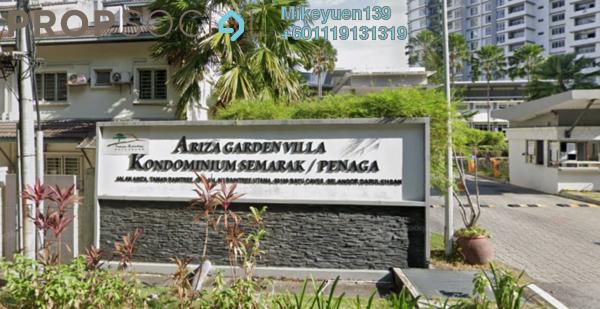 Condominium For Rent in Semarak Condominium, Batu Caves Freehold Fully Furnished 3R/2B 1.2k