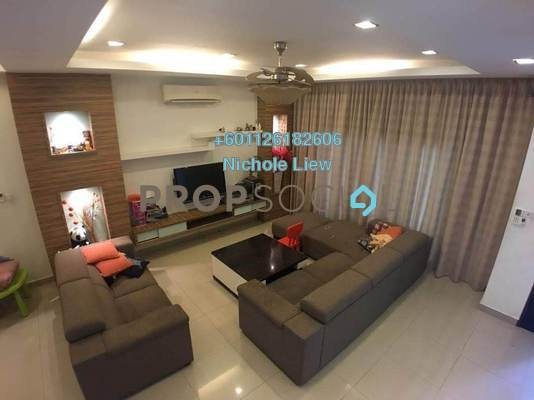 Superlink For Rent in The Peak, Cheras South Freehold Fully Furnished 6R/5B 3.9k