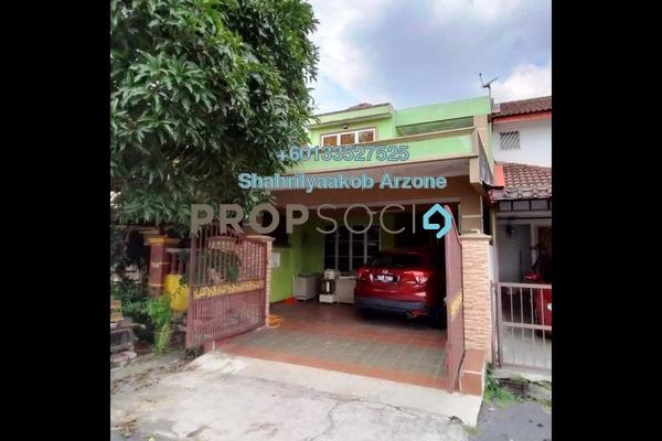Terrace For Sale in Taman Kantan Permai, Kajang Freehold Semi Furnished 3R/2B 380k
