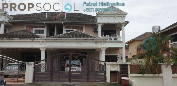 Semi-Detached For Sale in Seksyen 7, Bandar Baru Bangi Freehold Semi Furnished 5R/3B 1.1m