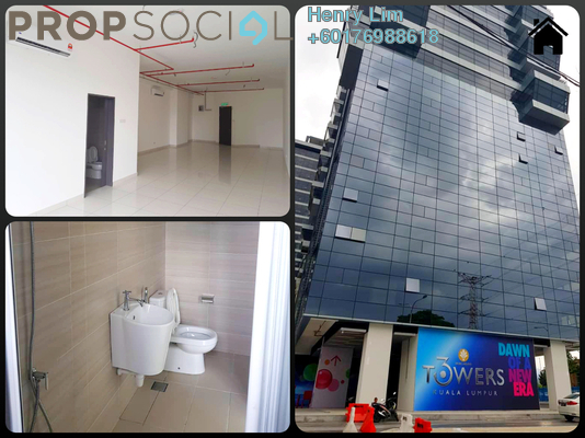 Office For Rent in 3 Towers, Ampang Hilir Freehold Unfurnished 0R/0B 1.5k