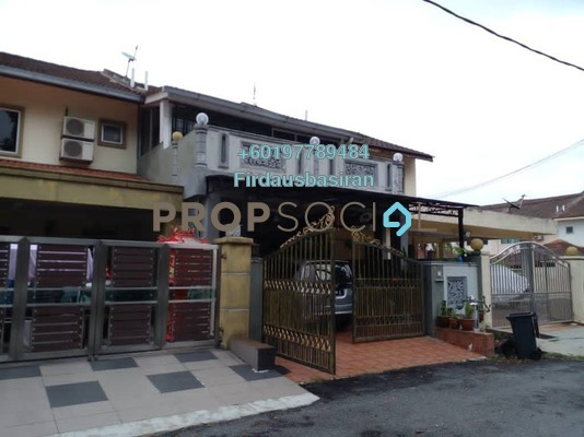 Terrace For Sale in Seksyen 9, Bandar Bukit Mahkota Freehold Unfurnished 4R/4B 780k