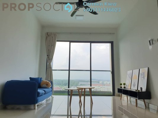 Condominium For Rent in The Raffles Suites, Johor Bahru Freehold Fully Furnished 2R/2B 1.45k