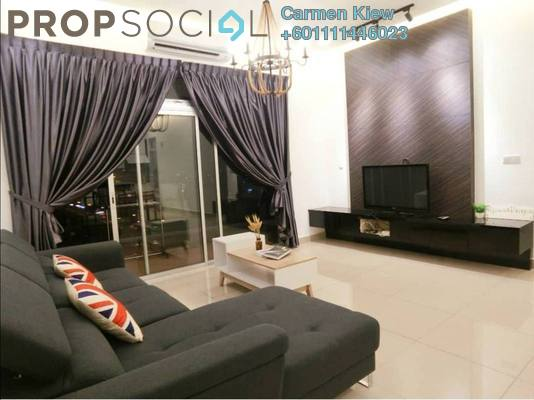 Serviced Residence For Rent in Centra Residences @ Nasa City, Johor Bahru Freehold Fully Furnished 3R/2B 2.6k