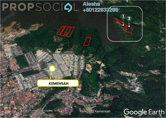 Land For Sale in Kemensah Heights, Kemensah Freehold Unfurnished 0R/0B 3.6m