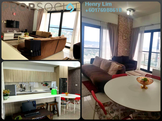 Serviced Residence For Rent in The Elements, Ampang Hilir Freehold Fully Furnished 2R/2B 2.2k