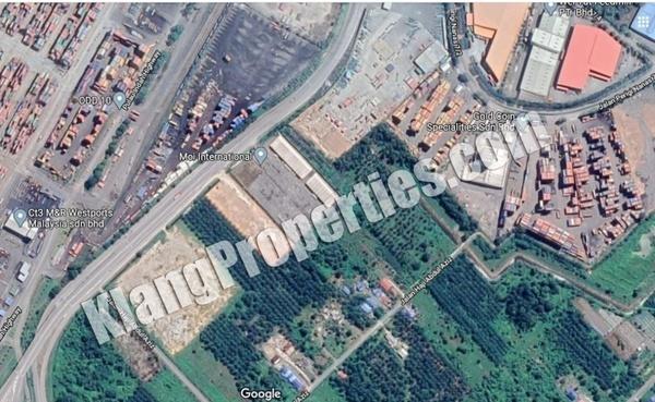 Land For Sale in Pulau Indah Industrial Park, Port Klang Freehold Unfurnished 0R/0B 14.9m