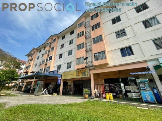 Apartment For Sale in College Heights Garden Resort, Mantin Freehold Unfurnished 3R/2B 90k