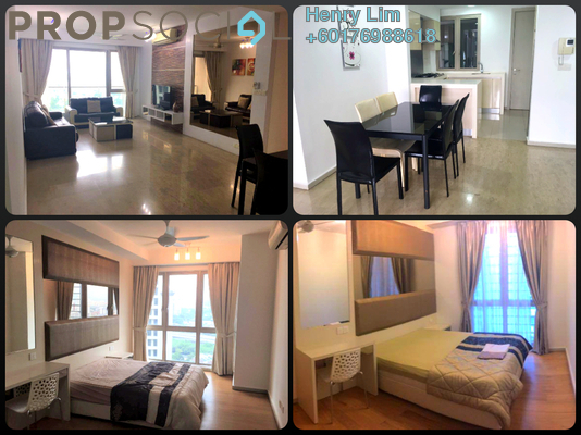 Serviced Residence For Rent in myHabitat, KLCC Freehold Fully Furnished 3R/2B 3k