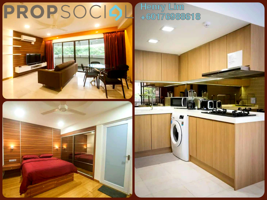 Condominium For Rent in UBN Apartment, KLCC Freehold Fully Furnished 1R/1B 3.5k