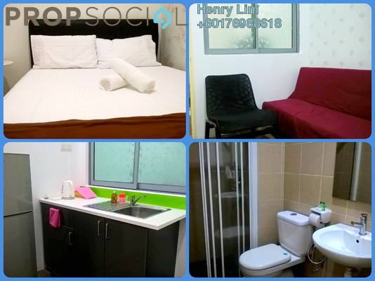Serviced Residence For Rent in Taragon Puteri Bintang, Pudu Freehold Fully Furnished 1R/1B 1.3k