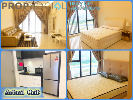 Serviced Residence For Sale in You Vista @ You City, Batu 9 Cheras Freehold Fully Furnished 2R/2B 475k