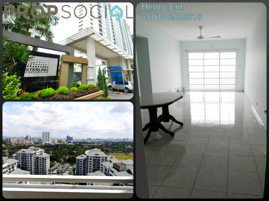 Condominium For Rent in Sterling, Kelana Jaya Freehold Unfurnished 4R/2B 1.8k