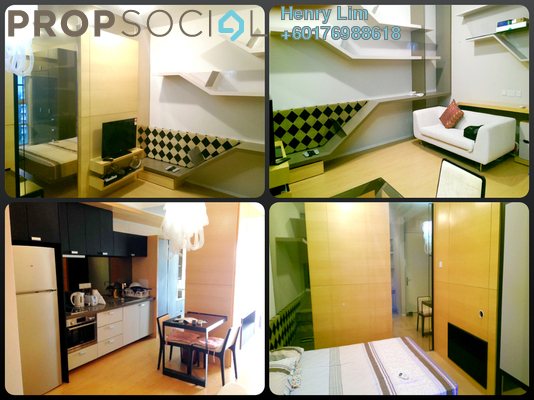 Serviced Residence For Rent in VERVE Suites, Mont Kiara Freehold Fully Furnished 1R/1B 2k