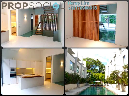 Condominium For Rent in The Edge Of U Thant, Ampang Hilir Freehold Semi Furnished 4R/5B 13k