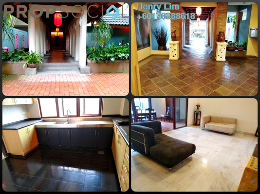 Condominium For Rent in Lee Garden, Ampang Hilir Freehold Semi Furnished 4R/4B 7k