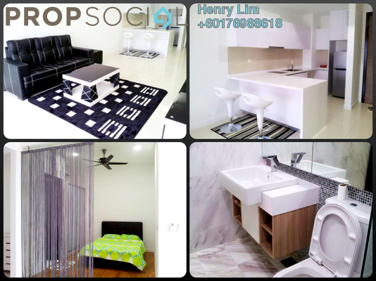 Serviced Residence For Rent in The Elements, Ampang Hilir Freehold Fully Furnished 0R/1B 1.45k