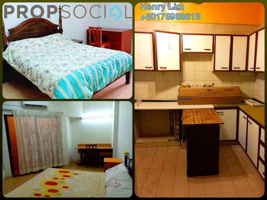 Condominium For Rent in GCB Court, Ampang Hilir Freehold Fully Furnished 3R/3B 1.6k