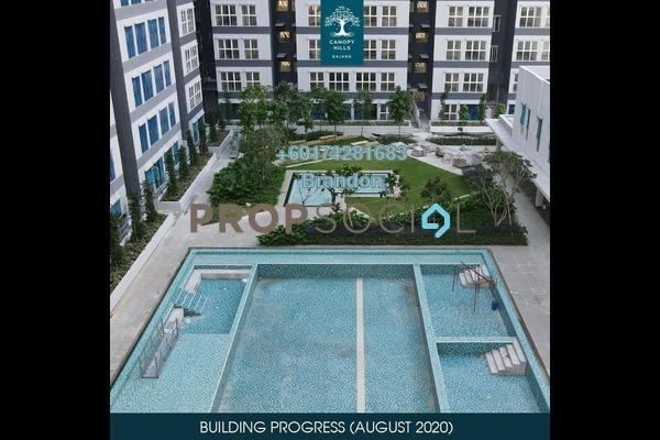 Serviced Residence For Sale in Canopy Hills, Bandar Baru Bangi Freehold Unfurnished 2R/1B 244k