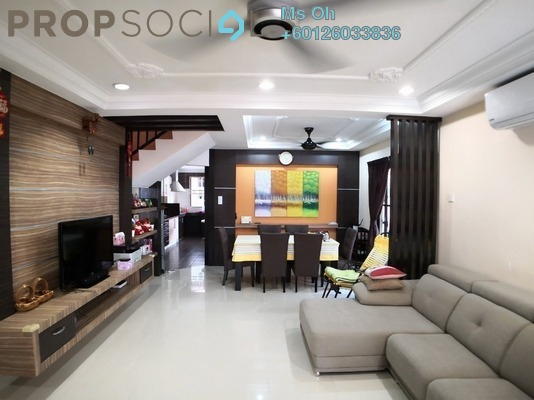 Terrace For Sale in Subang Bestari, Subang Leasehold Semi Furnished 4R/5B 714k