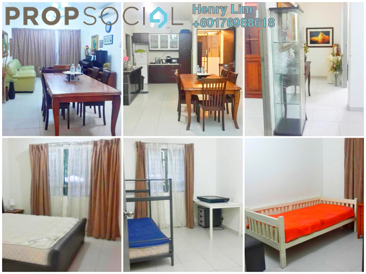 Serviced Residence For Rent in Suria Jelatek Residence, Ampang Hilir Freehold Fully Furnished 3R/2B 2.15k