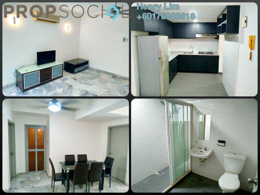 Condominium For Rent in Villa Ampang, Ampang Hilir Freehold Semi Furnished 3R/2B 1.9k
