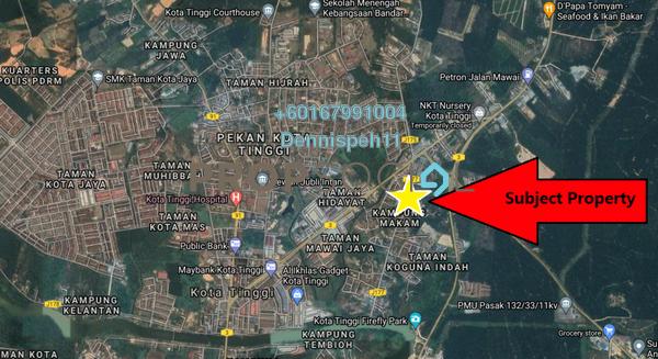 Land For Sale in Kota Tinggi, Johor Freehold Unfurnished 0R/0B 6.36m