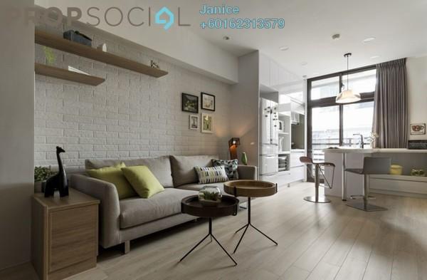 Condominium For Sale in Jalan Bangsar, Kuala Lumpur Freehold Semi Furnished 2R/2B 600k