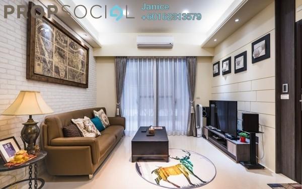 Condominium For Sale in Jalan Sultan Azlan Shah, Kuala Lumpur Freehold Semi Furnished 3R/2B 736k
