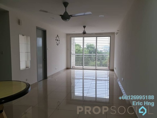 Condominium For Rent in Suasana Lumayan, Bandar Sri Permaisuri Freehold Semi Furnished 4R/2B 1.6k