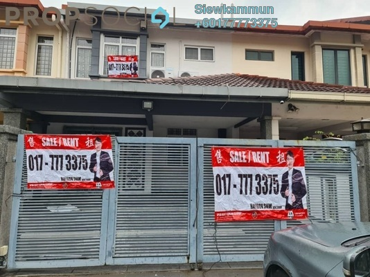 Terrace For Sale in Subang Impian, Shah Alam Freehold Semi Furnished 4R/3B 580k