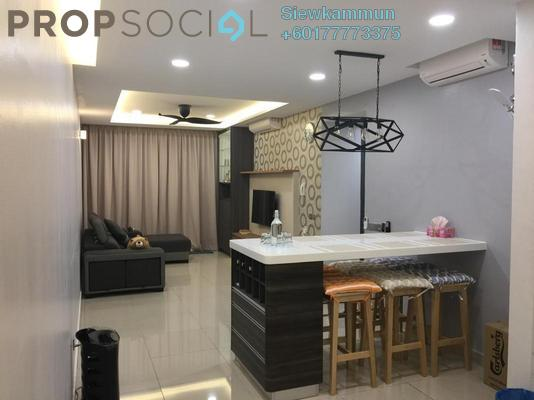 Condominium For Sale in Selayang 18, Selayang Freehold Fully Furnished 3R/2B 600k