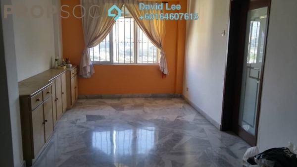 Apartment For Sale in Mahsuri Apartment, Bayan Baru Freehold Semi Furnished 3R/2B 340k