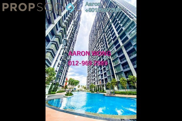 Condominium For Sale in V Residence 3 @ Sunway Velocity, Cheras Freehold Fully Furnished 2R/2B 915k