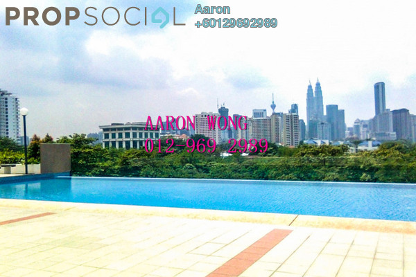 Condominium For Rent in Suria Jelatek Residence, Ampang Hilir Freehold Semi Furnished 3R/2B 1.4k
