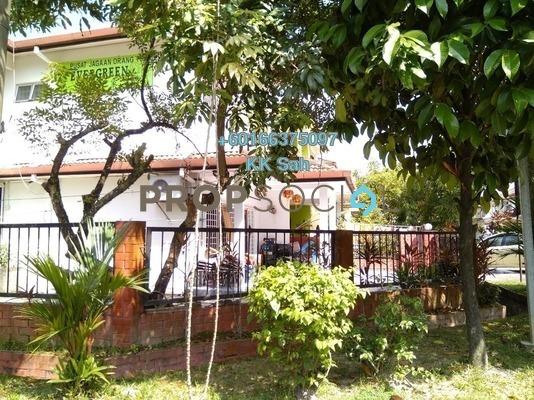 Link For Sale in SL8, Bandar Sungai Long Freehold Semi Furnished 4R/3B 738k