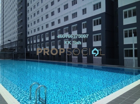 Condominium For Rent in Eco Majestic, Semenyih Freehold Semi Furnished 3R/2B 800translationmissing:en.pricing.unit