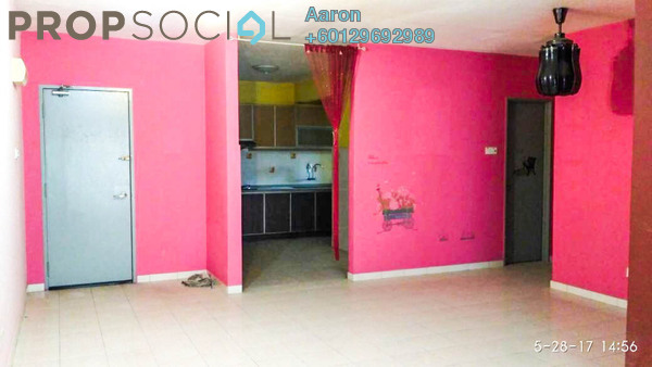 Apartment For Sale in One Selayang, Selayang Freehold Semi Furnished 3R/2B 280k