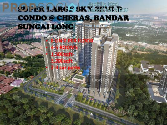 Condominium For Sale in Alstonia Residence, Bandar Sungai Long Freehold Semi Furnished 4R/3B 0translationmissing:en.pricing.unit