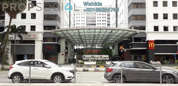 Office For Rent in Plaza Mont Kiara, Mont Kiara Freehold Fully Furnished 0R/2B 13k
