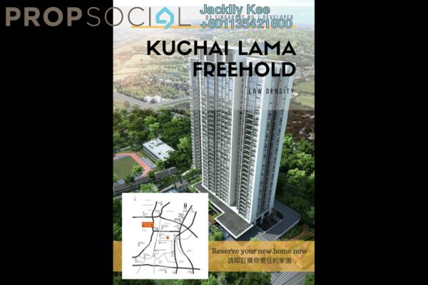 Condominium For Sale in GenKL, Kuchai Lama Freehold Semi Furnished 3R/2B 735k