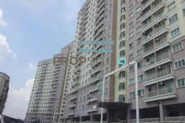 Condominium For Rent in Juta Mines, Seri Kembangan Freehold Semi Furnished 3R/2B 1.2k
