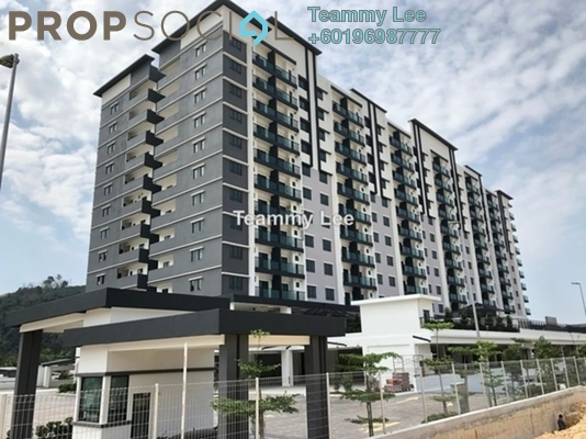 Apartment For Sale in Camellia Residences, Bandar Sungai Long Freehold Unfurnished 3R/2B 400k