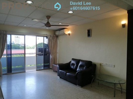 Apartment For Sale in Taman Kampar Apartment, Georgetown Freehold Semi Furnished 3R/2B 310k
