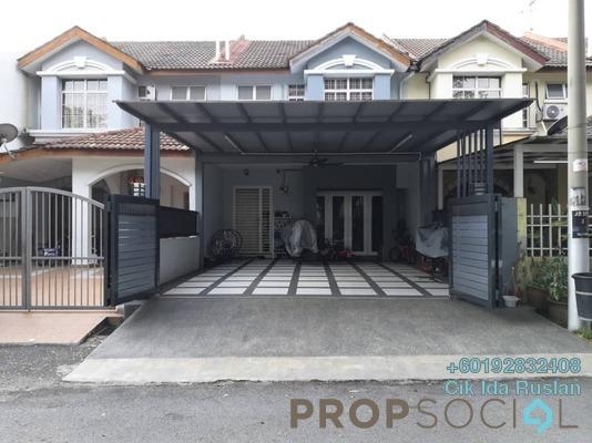 Terrace For Sale in Taman Putra Budiman, Balakong Freehold Semi Furnished 4R/3B 598k